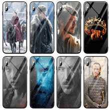 Night King Artwork Tempered Glass Phone Cases for iPhone 5 5S SE 6 6S Plus 7 7Plus 8 8Plus X XR XS 11 Pro Max Back Cover(China)