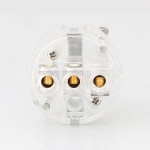 Image 4 - Viborg ve503r + vf503r 99.99% puro cobre ródio transparente chapeado schuko ue alta fidelidade cabo de alimentação áudio extensão adaptador plug