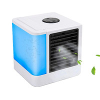 Mini Desktop Air Cooler Humidifier Purifier USB Air Coolers with Independent Water Tank Personal Air Conditioner