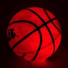 Ночной Светильник для баскетбола, высокая яркость, светодиодный резиновый баскетбольный мяч, для тренировок, фристайл, для выступлений, хорошие подарки, новее