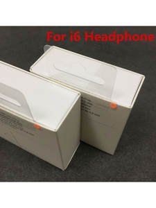 In-Ear Headset Earphone High-Quality with Remote-Line-Mic for 5 5s 6 6s-Plus 10pcs/Lot