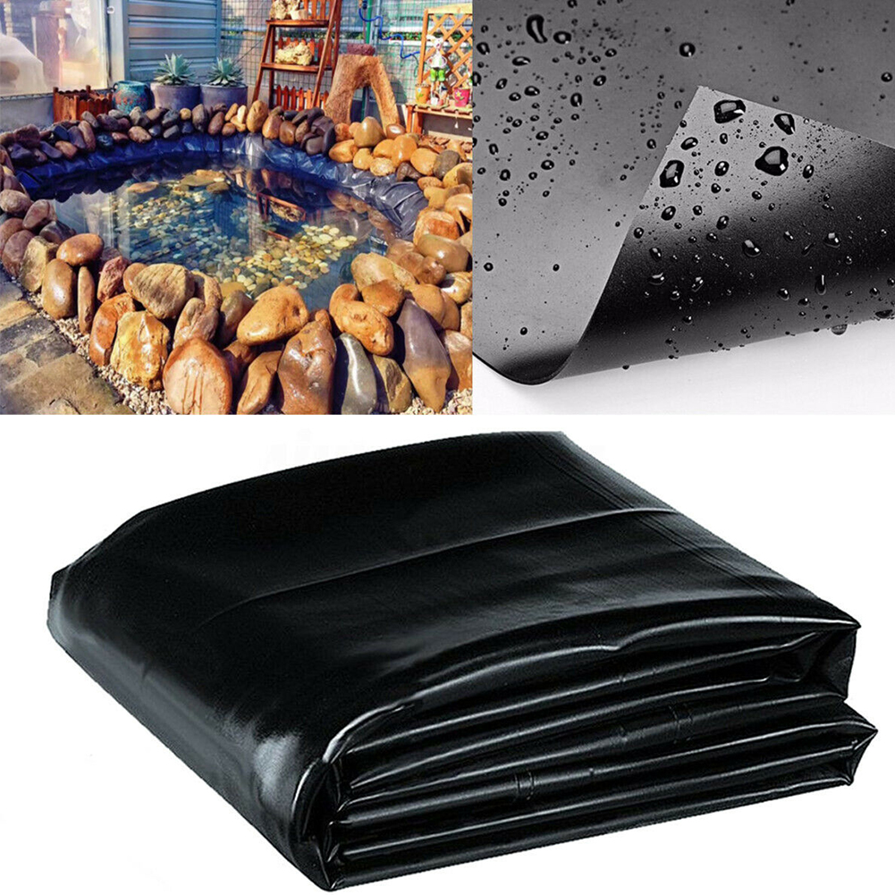 Pond Liner Membrane Landscaping Thickness Cloth Waterproof Garden Anti-seepage Film Agricultural HDPE Reinforced Pool Farming