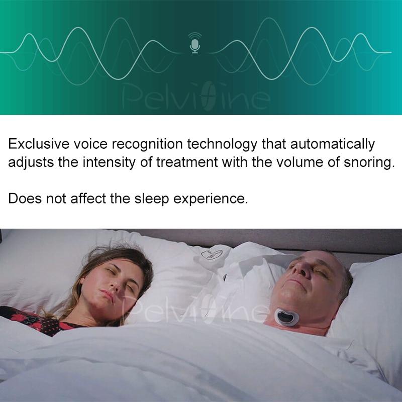Easeful ronco rolha anti ronco impede inteligente anti ronco estimulador muscular sono solução de ronco evitar apneia do sono cpap - 2