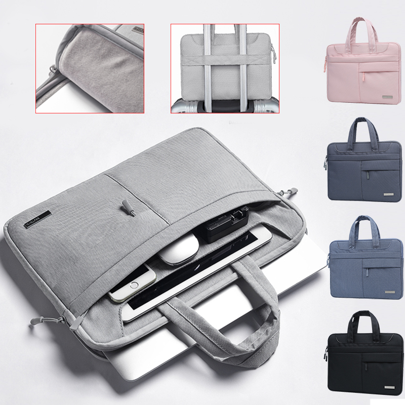 High Capacity Laptop Bag <font><b>15.6</b></font> Laptop Case 14 inch Notebook Bag for Huawei Dell Asus <font><b>funda</b></font> <font><b>portatil</b></font> <font><b>15.6</b></font> pochette ordinateur New image
