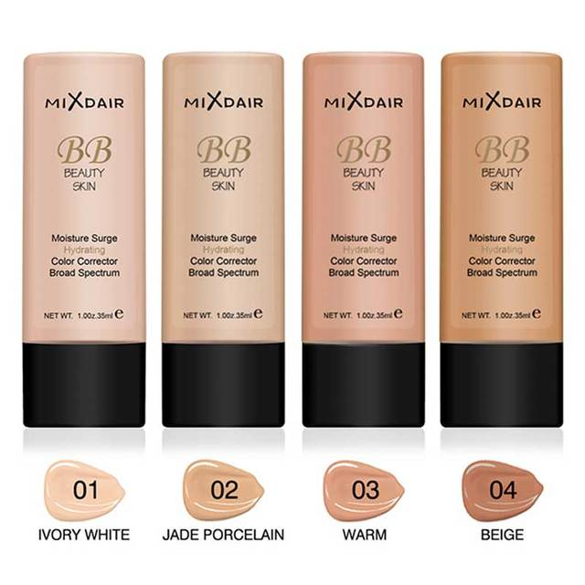 MIXDAIR Liquid Foundation Face Concealer 4 Colors Magical Makeup Base Primer BB Cream Full Cover Dark Eye Circle Hide Blemish 1