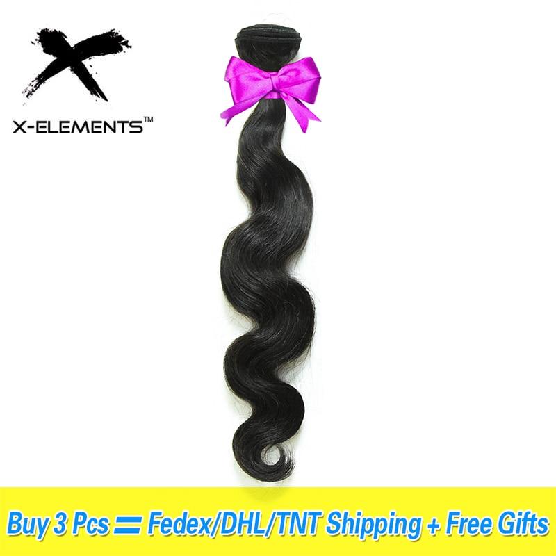 Brazilian Hair Weave Bundles Body Wave Bundles 100% Human Hair Extensions Non Remy Hair Weave Bundles Can Buy 3/4 Bundles Deal
