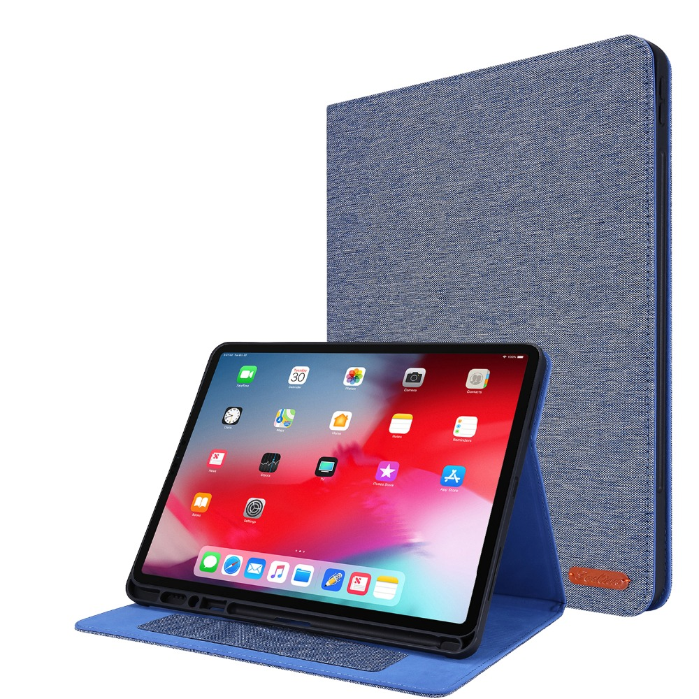 For iPad Pro 2020 Case 12 9 inch 4th Gen With Pencil Holder Tablet Coque For