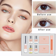 Eyelash Perm Kit Lashes Lifting Perming Curling Kit Set Permanent Curling Wave Suitable for Home Professional Salon Perfect Gift