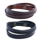 Men  Leather bracele...