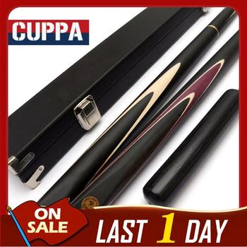 New Arrival Handmade Cuppa Billiard 3 /4 Snooker Cues 9.8mm/11.5mm Tips 3/4 Snooker Cue Case Set Combination Offer China 2019