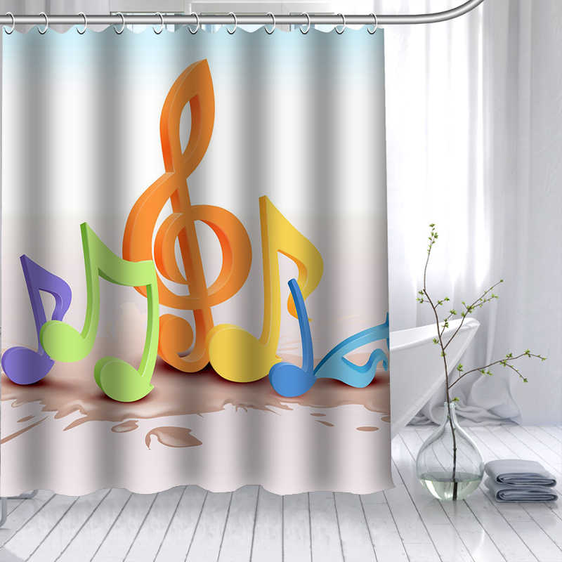 Custom Bath Curtains Print Creative