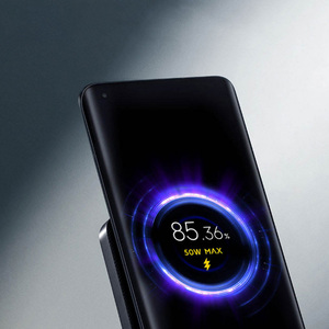 Image 5 - Original New Xiaomi 55W Wireless Charger Max Vertical air cooled wireless charging Support Fast Charger For Xiaomi 10 For Iphone