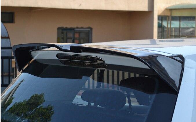 Volkswagen Golf 7 mk7 GTI 2013-2019 Spoiler karbon Fiber dekoratif desen arka kanat Golf 7 GTI yüksek kaliteli ABS spoiler
