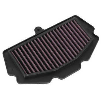 Filtr powietrza samochody motocykl filtr powietrza Cleaner zmywalny wielokrotnego użytku P-K4S18-01 pasuje do Kawasaki Ninja 400 2018 air box Car tanie i dobre opinie ESTINK CN (pochodzenie)