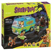 10430 10428 Scooby Doo The Mystery Machine Building Block Toys Set Bricks educational For Children xingbao 01202 1500pcs the new romantic heart set with light usb building block bricks educational toy valentine s day legoingys