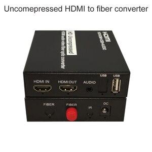 Image 1 - Przedłużacz konwertera HDMI Over fibre 1080P nieskompresowany HDMI audio wideo bezstratny brak opóźnienia do 20KM rozszerzenia