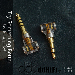 Image 3 - DD DJ35A DJ44A, 2.5mm 4.4 Evenwichtige adapter. Toepassen op 2.5mm balans oortelefoon kabel, van merken zoals Astell & kern, FiiO, etc.