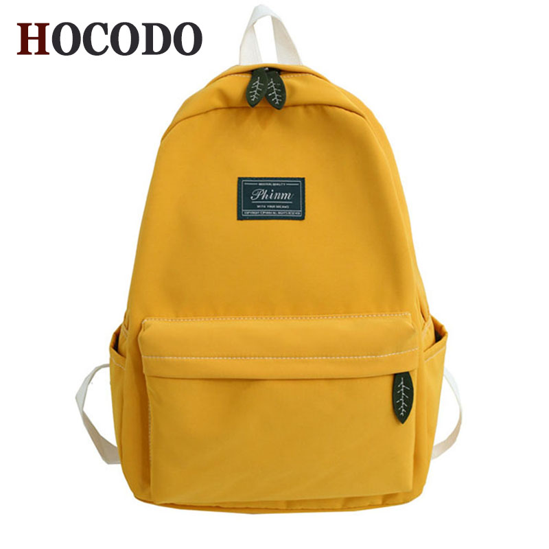 New Female Backpack Fashion Women Soild Color Backpack College School School Bag Harajuku Travel Shoulder Bags For Teenage Girl