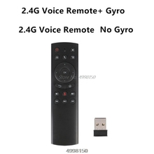 G20S Gyro Smart Voice Remote Control IR Learning 2.4G Wireless Fly Air Mouse Dropship
