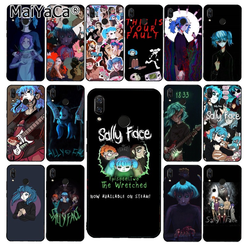 MaiYaCa Sally Face Game Phone Case for Xiaomi Redmi8 4X 6A S2 5A Redmi 5 5Plus Note7 8Pro 7A 6A image