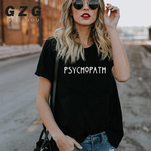 Factory Sellers American Horror Story Tee Unisex PSYCHO T Shirt Fashion PSYCHOPATH T-Shirt Casual Cotton Funny Women Men T Shirt(China)