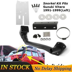 1 Set Car Snorkel Kit Left Side For Suzuki Vitara 1991-1999 1.6L Petrol G16B 4WD 4x4 Air Intakes Parts Set(China)