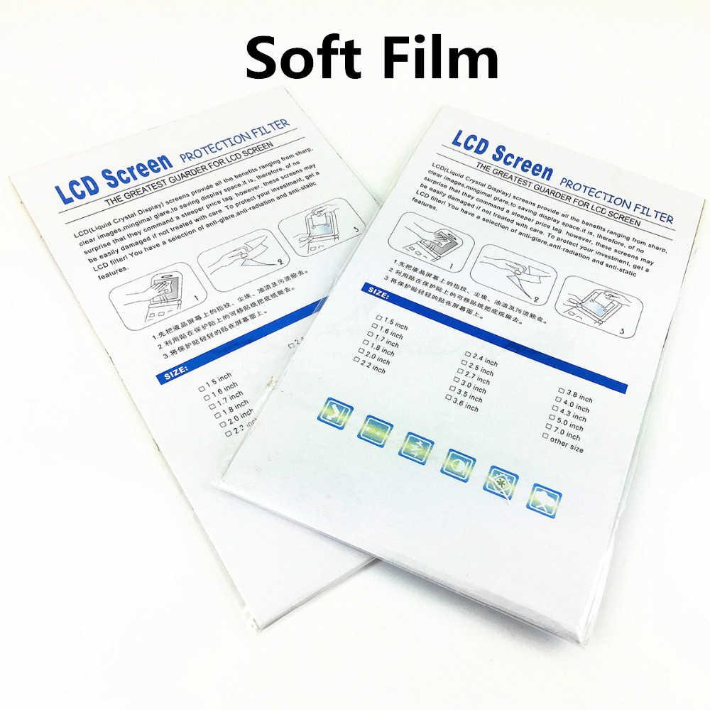 زجاج ذاتي اللصق/فيلم شاشة LCD رئيسية + معلومات الكتف واقي للشاشة غطاء حماية لكانون EOS 5D مارك IV MK4 5D4