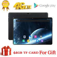 Tablette Pc Android de 10 pouces, avec Octa Core, 3 go + 64 go (32 go + 64 go de carte), 4G, Bluetooth, GPS, WIFI 2.4G + 5G, 1920x1200