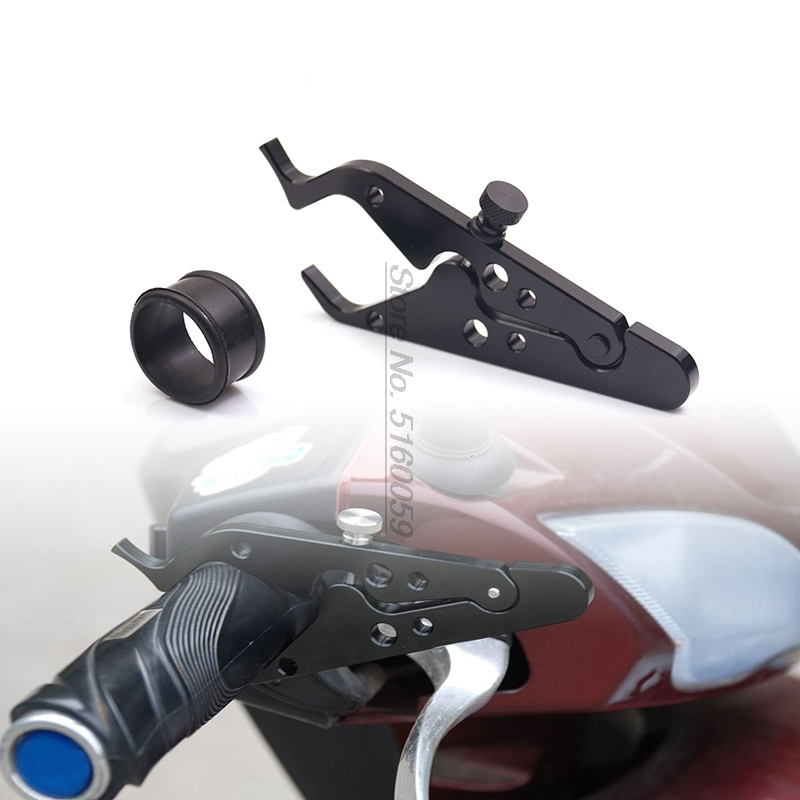 Motorcycle Handle Cruise Throttle Clamp Realease Your Hand Grips For Cbf 600 Cb400 Accessories Handlebar Protaper Heated Grips
