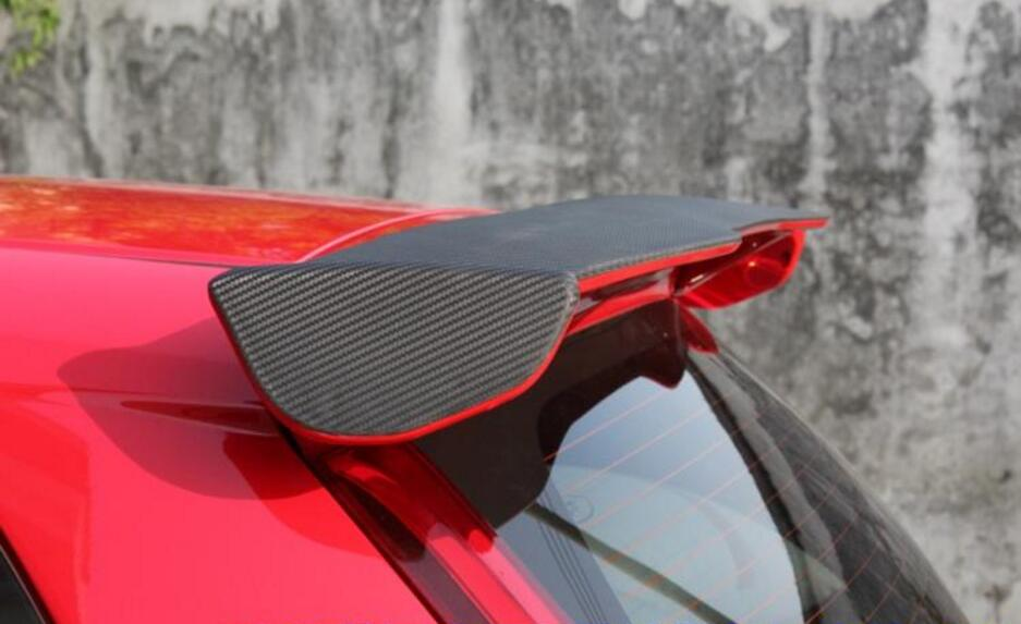 ABS Car Rear Wing Trunk Lip Spoilers For Honda Fit/<font><b>JAZZ</b></font> <font><b>GK5</b></font> 2014 2015 2016 2017 2018 image