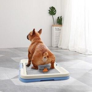 Image 5 - Przenośne szkolenia psów nocnik szczeniak miot kuweta Pad Mat dla psów koty łatwe do czyszczenia produkt dla zwierząt kryty
