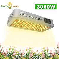 LED Grow Light 3000W Full Spectrum for Indoor Greenhouse Growing Lights Grow Tent Box Phyto Lamp for Plants Growth Hydroponics