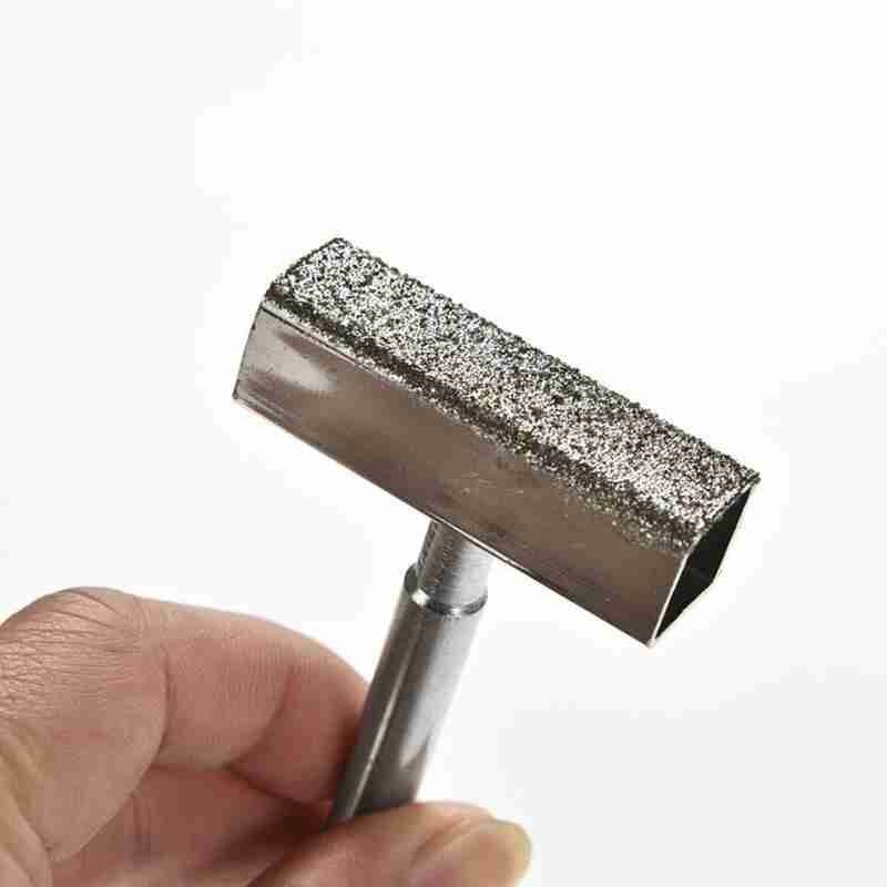 Electroplated Diamond Grinding Wheel Dresser Sharpening Thickening Stone Dressing Handheld Metal Grinder Ceramic Correction Tool