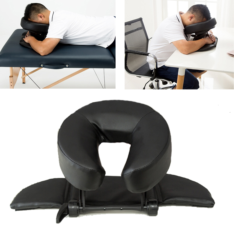 15%,Home Massage Kit - Deluxe Adjustable Headrest & Face Pillow / Home Massage Beauty Cradle Rest Pad For Desk&Tabletop