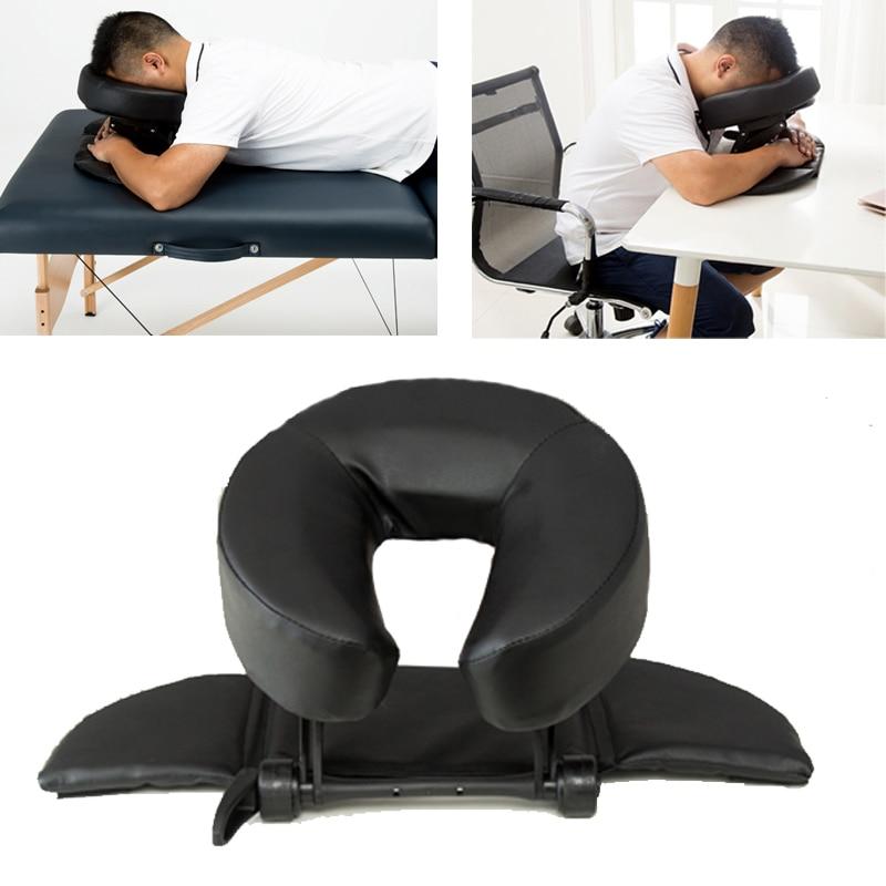 15%,Home Massage Kit - Deluxe Adjustable Headrest & Face Pillow / Home Massage Beauty Cradle Rest Pad For Desk&Tabletop
