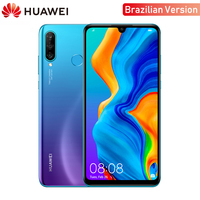 Brazilian Version Original Huawei P30 Lite 4GB RAM Mobile Phone 6.15 inch Smartphone 32MP 4*Cameras With Google Pay Android 9.0