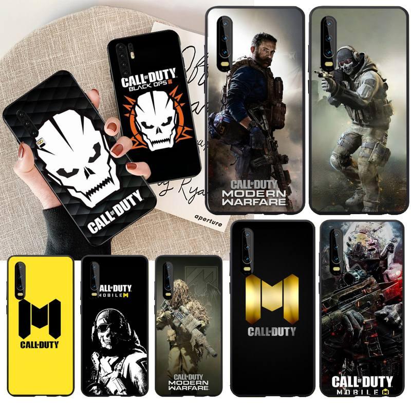 Чехол для телефона PENGHUWAN Call of Duty Warzone, черный мягкий резиновый чехол из ТПУ для Huawei P30 P20 lite Mate 20 Pro lite P Smart 2019 prime