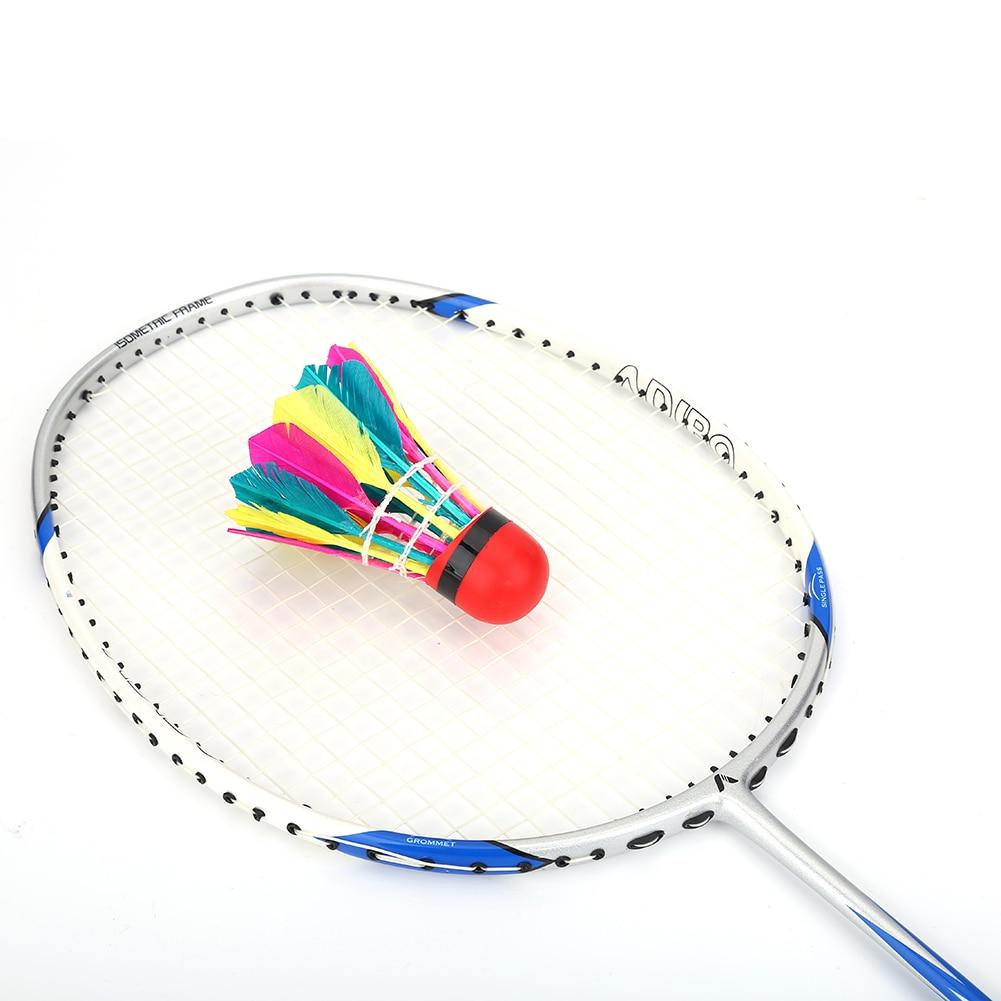 Alomejor 12Pz Volano da Badminton Composito Sughero Ballhead Indoor Outdoor Sport Sports Accessories