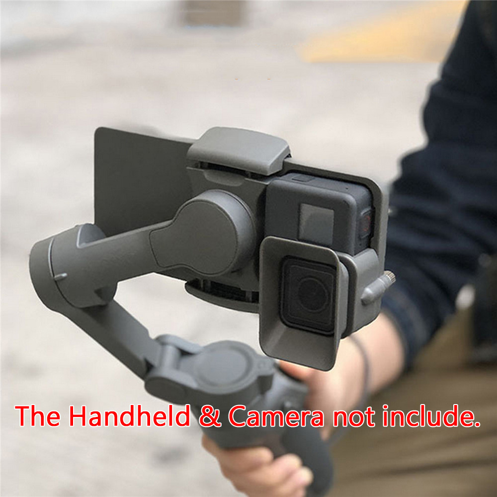 Portable Handheld Adapter Camera Mount Holder For DJI OSMO Mobile 3 To For GoPro 5/6/7 Camera Gimbal Stabilizer Accessories