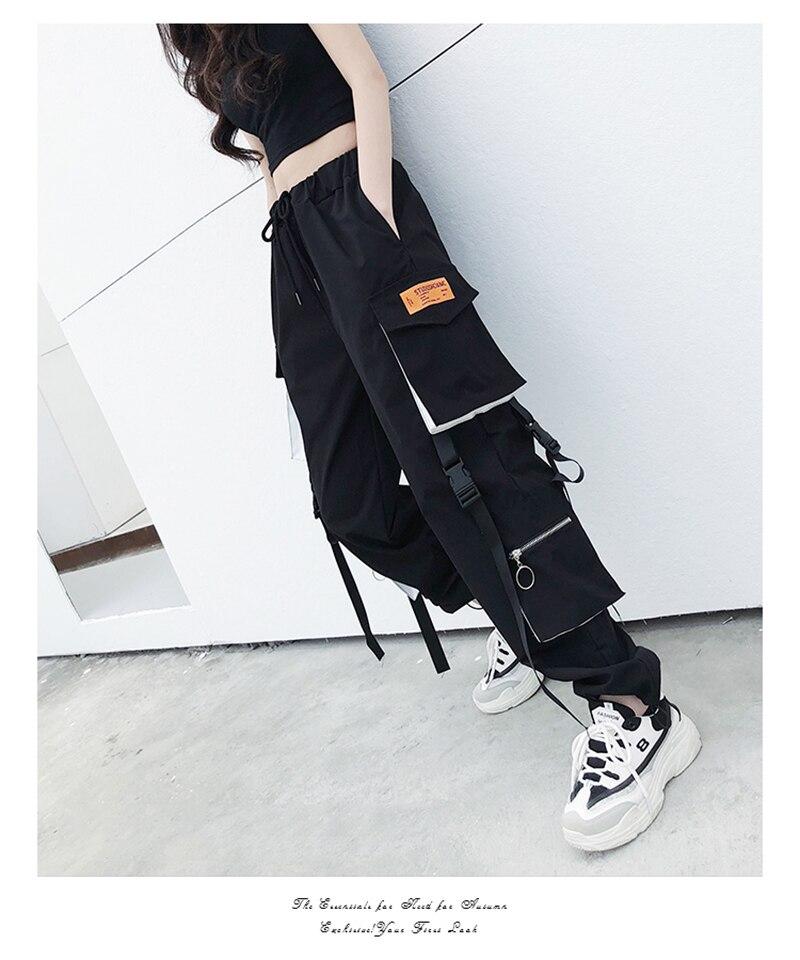 calças hip hop alta qualidade joggers calças