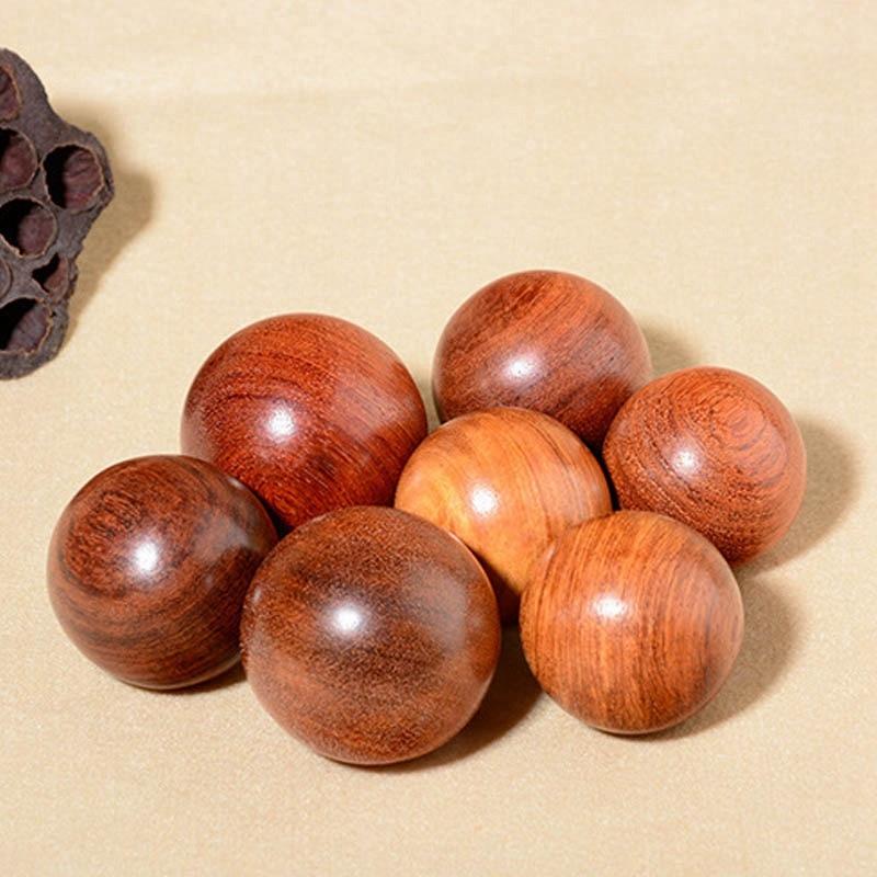 2x 6cm 5cm de madeira estresse baoding