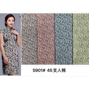 45s печатные вискозные ткани для платья, горячая Распродажа, низкая цена, цветочный принт, тканые 100% вискозные ткани