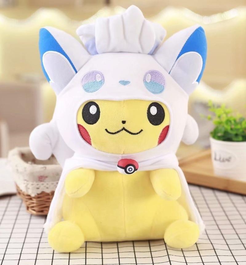 takara-tomy-font-b-pokemon-b-font-30cm-lapras-eevee-fennekin-marowak-psyduck-lovely-anime-doll-soft-stuffed-gifts-for-girlfriend-plush-toys