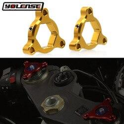 For Honda CBR600RR CBR1000RR CBR 600RR 1000RR CB1000R CB 1000R Motorcycle Accessories 19mm CNC Suspension Fork Preload Adjusters