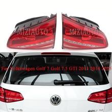 MIZIAUTO Rear Tail Light For Volkswagen Golf 7 Golf 7.5 For GTI 2013 2014 2015 Brake Light Rear Bumper Light Tail Stop Lamp стоимость