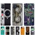 Чехол для samsung galaxy A31, A41, A51, A71, A01, A81, A91, A11, A30S, A20S, A21S, A50S, M11, M21, M31, M30S, M40S, винтажная лента с камерой Gameboy