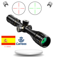 4 16x44 ST Optic Sight with Green Red Illuminated Riflescope for Hunting Scopes Tactical Airsoft Scope