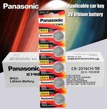 Литий-ионный аккумулятор Panasonic 100 шт./лот 3 в Li-Ion cr2016 кнопочный Аккумулятор для часов монетные батареи cr 2016 DL2016 ECR2016 GPCR