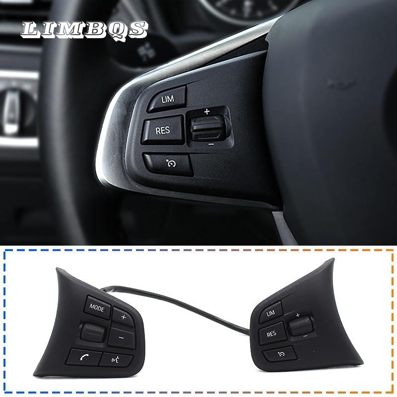 Interrupteur de bouton de commande de volant multifonction pour bmw f10 f11 f30 f32 g30 e60 e90 commande audio universelle de roue de croisière