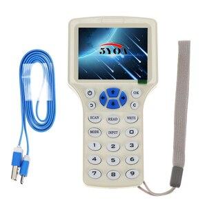 Image 5 - RFID Máy Photocopy Đầu Đọc Nhà Văn Em4305 Thẻ Thẻ Chìa Khóa 10 Tần Số ID IC Chép M1 13.56 Mhz Mã Hóa Duplicator Lập Trình Viên USB NFC Uid